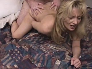 sexy milf bends over and takes it from behind